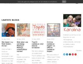 krabbelsopdemuur.nl screenshot