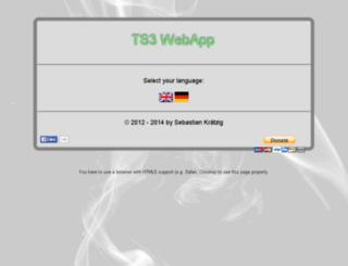 kraetzig.org screenshot