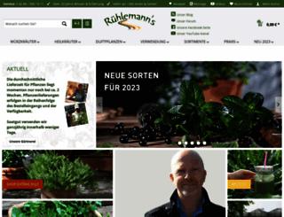 kraeuter-und-duftpflanzen.de screenshot