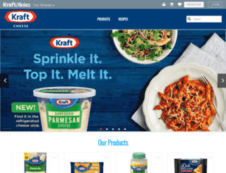 kraftcheese.com screenshot