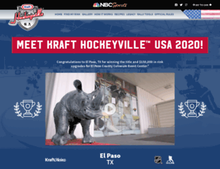 krafthockeyville.com screenshot