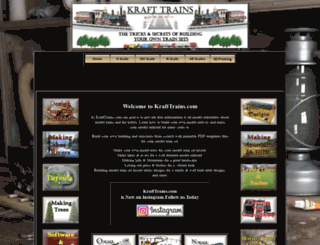 krafttrains.com screenshot