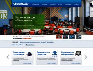 kraftway.ru screenshot