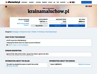 krainamaluchow.pl screenshot