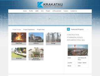 krakataueng.co.id screenshot