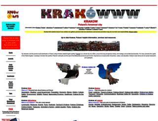 krakow-info.com screenshot