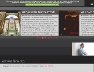 krakow.radissonsas.com screenshot