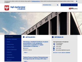 krakow.sa.gov.pl screenshot