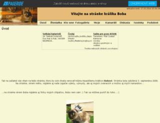 kralikbobo.weblahko.sk screenshot