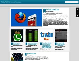 kralteknom.blogspot.com.tr screenshot