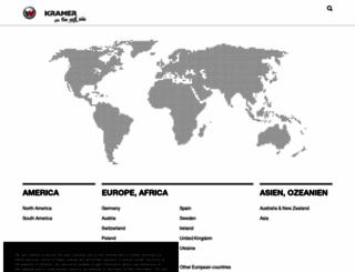 kramer-online.com screenshot