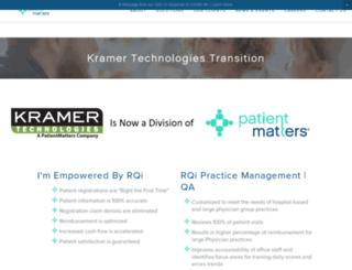 kramergroup.com screenshot
