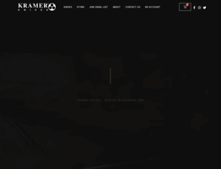 kramerknives.com screenshot