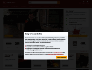 kramp.com screenshot