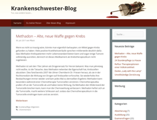 krankenschwester-blog.de screenshot