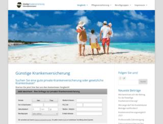 krankenversicherung-wechsel.de screenshot