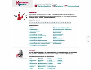 krankheiten-portal.de screenshot