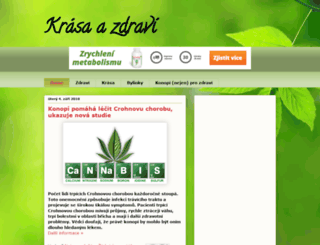 krasazdravi.blogspot.cz screenshot