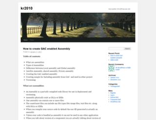krati123.wordpress.com screenshot