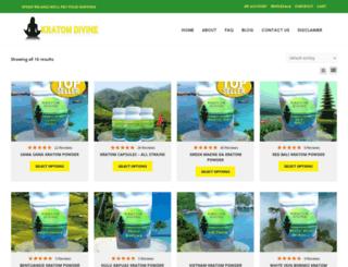 kratomdivine.com screenshot