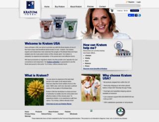 kratomusa.com screenshot
