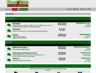 kraut-rosen.de screenshot