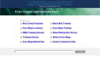 krav-maga-combatives.com screenshot