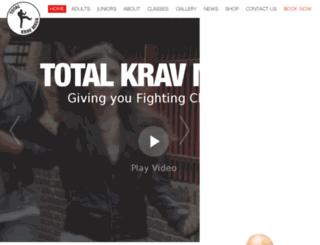 krav-maga-uk.com screenshot