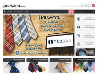 kravatci.com screenshot