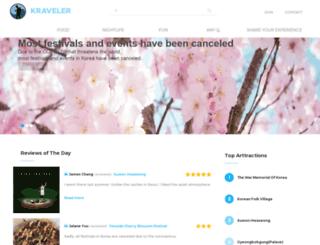 kraveler.com screenshot