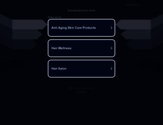 kravesaloninc.com screenshot