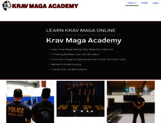 kravmagasolutions.com screenshot