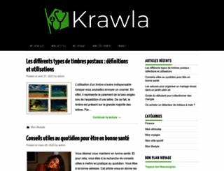 krawla.be screenshot