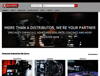 krayden.com screenshot