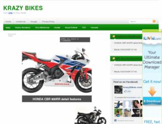 krazybikes.com screenshot
