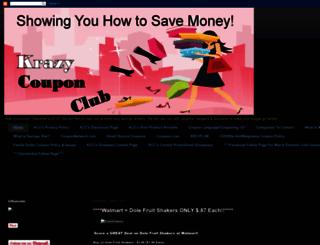 krazycouponclub.blogspot.com screenshot