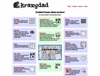 krazydad.com screenshot