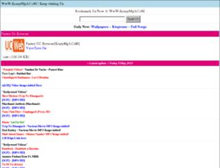 krazymp3.com screenshot