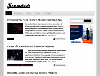 krazytech.com screenshot