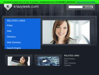 krazyweb.com screenshot