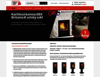 krbova-kamna.com screenshot