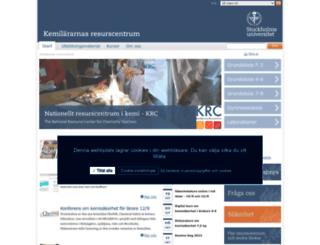 krc.su.se screenshot