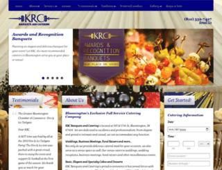 krccatering.com screenshot