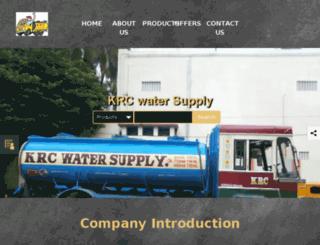 krcwatersupply.com screenshot