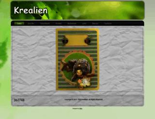 krealien.nl screenshot