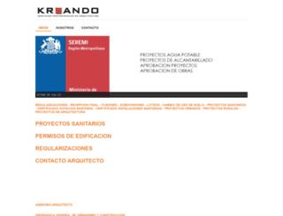 kreando.cl screenshot