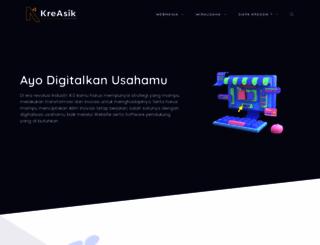 kreasik.com screenshot