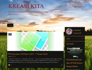 kreasikita32.blogspot.com screenshot