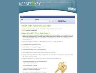 kreateakey.com screenshot