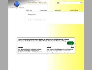 kreative-freizeit.de screenshot